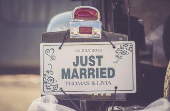 Mariés en moto : un moyen de transport original pour votre grand jour