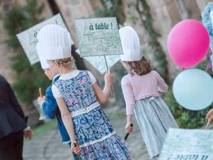 7 conseils pour le menu de mariage des enfants