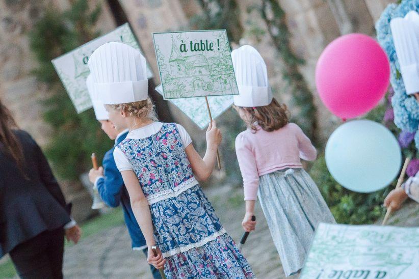 Prévoyez-vous un menu spécial pour les enfants ? 🎈 1