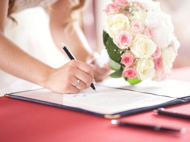 Le dossier de mariage pour la mairie