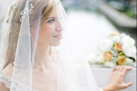 La tradition du voile de la mariée