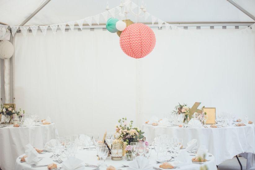 Comment Decorer Plafond De Mariage Avec Du Voile D Hivernage