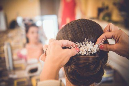 30 coiffures de mari�e accessoiris�es