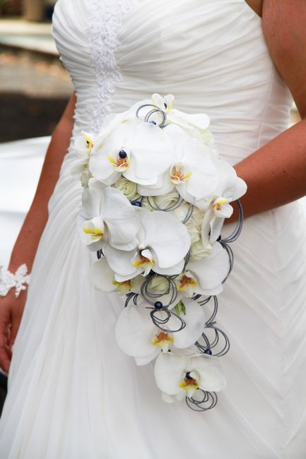 énorme réduction vente moins chère en présentant 20 bouquets de mariée cascade dans plusieurs styles