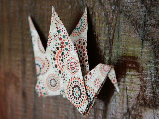 Origami : 6 idées pour une belle décoration de mariage en papier