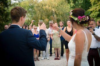 30 phrases pour votre mariage : trinquez à votre amour !