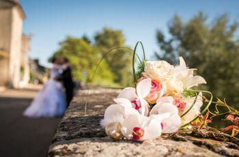Chics et intemporels : les bouquets de mariée avec des orchidées