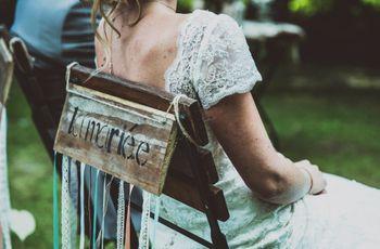 Chaises des mariés : comment les choisir et les décorer pour la cérémonie ?