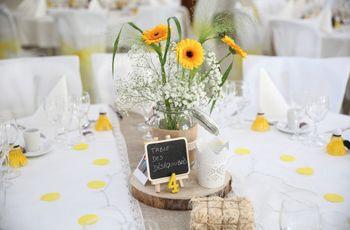 Du jaune pour ensoleiller votre mariage : les idées à ne pas manquer !