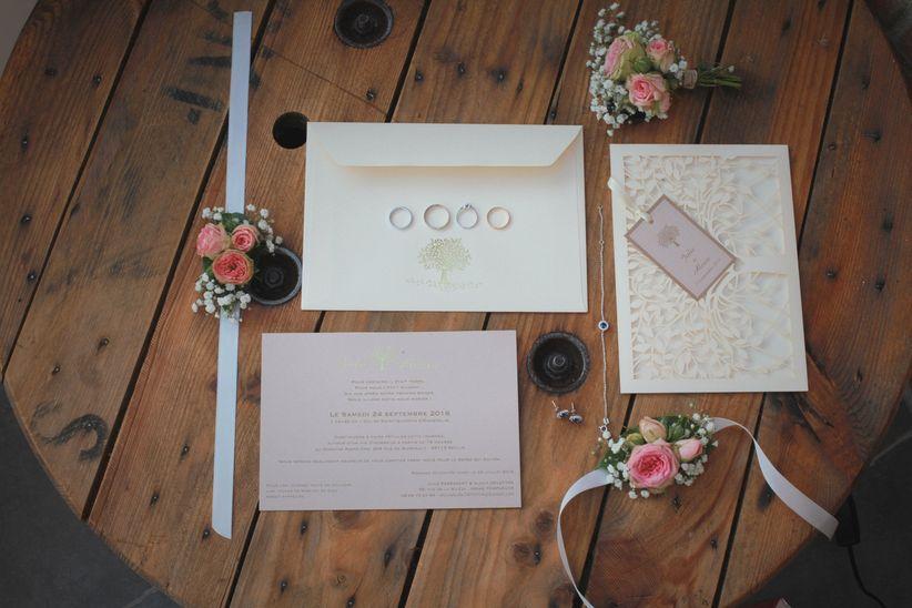 Connu 8 idées originales pour les enveloppes des faire-part de mariage FL19
