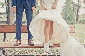 7 types de chaussures de mariée atypiques et confortables