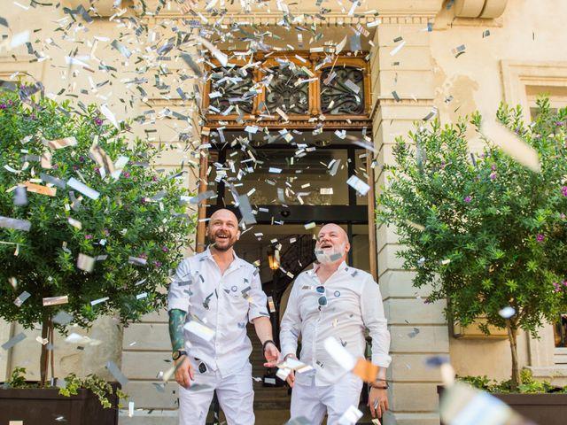 Le protocole du mariage homosexuel