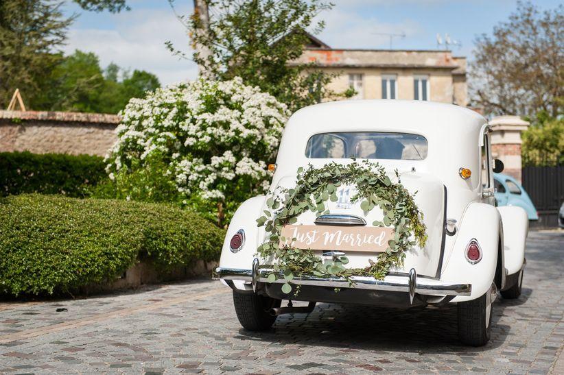 2 styles - 1 mariée : La voiture 1