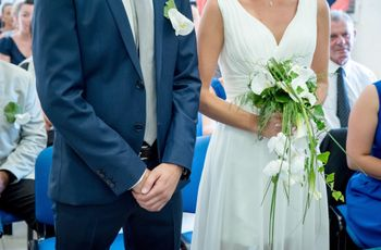 20 bouquets de mariée cascade