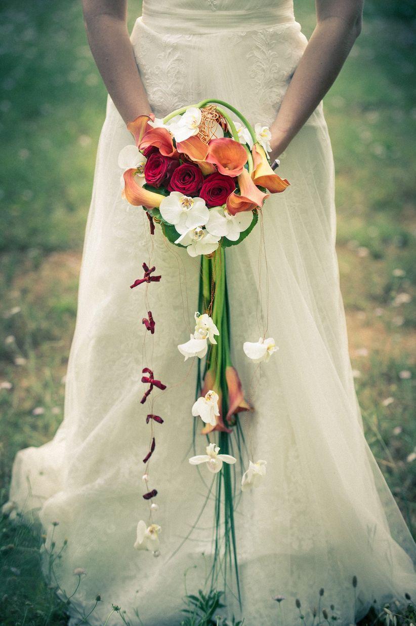 20 bouquets de mariée cascade dans plusieurs styles