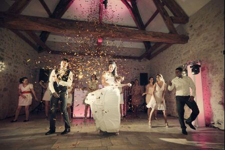 8 alternatives à la valse pour l'ouverture de bal de votre mariage