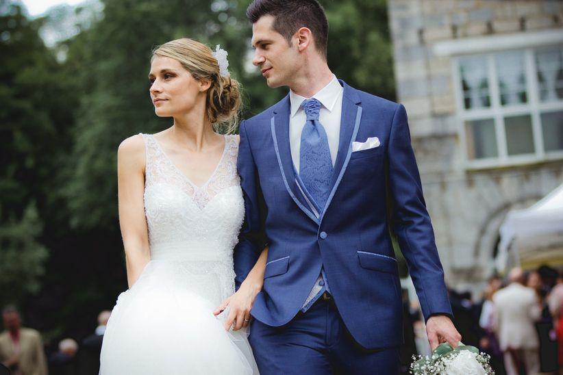 Costumes de mariage bleus   30 options pour toutes les saisons 5fe384c1b13