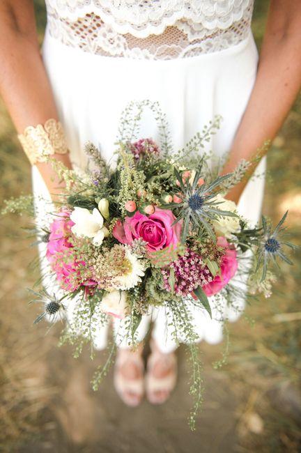 50 Bouquets Champetres Pour Votre Look De Mariee