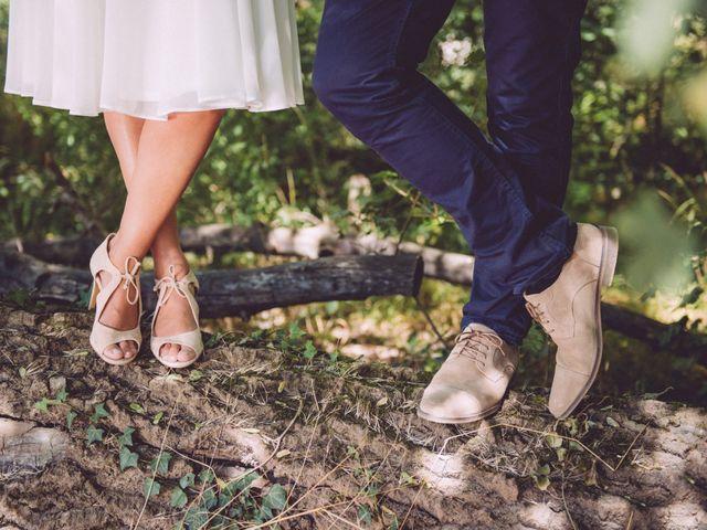 Chaussures pastel : 40 modèles pour la mariée