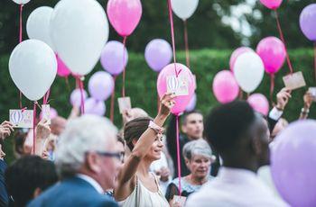 Pourquoi utiliser des ballons de baudruche pour vos photos de mariage?