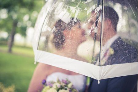 Mariage pluvieux mariage heureux : faire du mauvais temps un atout !