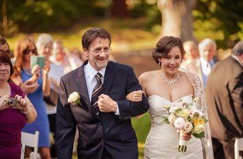 Le rôle du père de la mariée le jour J