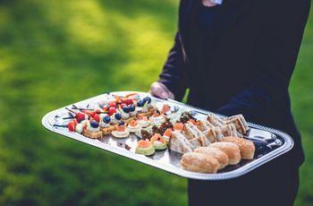 5 idées d'entrées pour une réception de mariage en automne