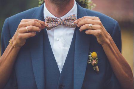 8 détails du look de marié qui ne passeront pas inaperçus