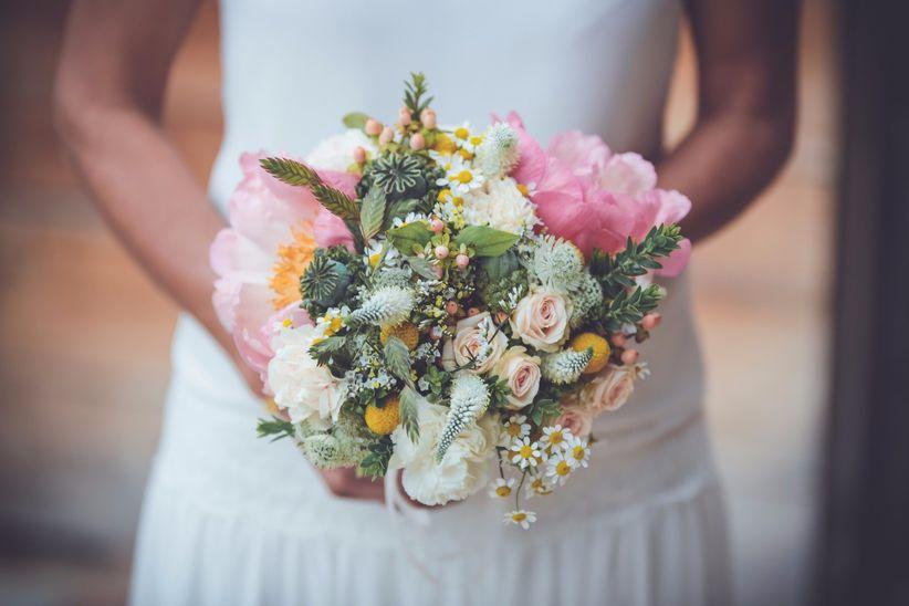 vari t s de fleurs pour un bouquet de mari e 100 champ tre. Black Bedroom Furniture Sets. Home Design Ideas