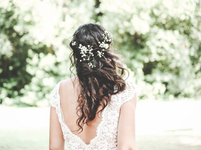 Des extensions pour une coiffure de mariage réussie