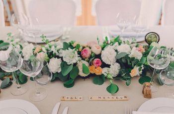 7 idées pour différencier la table des mariés