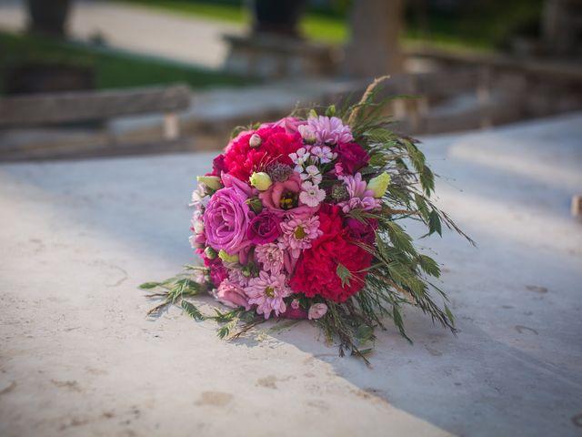 La couleur du bouquet de mariée