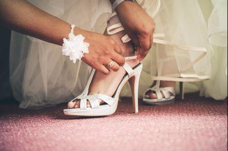 Quels talons choisir pour vos chaussures de mariée ?