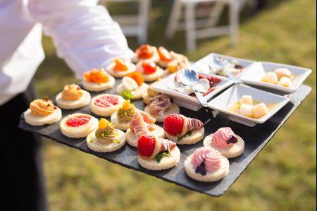 8 astuces pour un buffet de mariage parfait