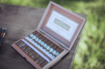 Bar à cigares : une tradition de mariage qui perdure