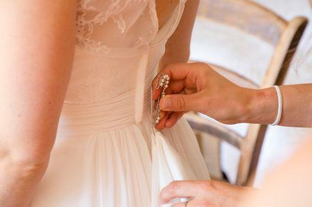 L'accroche-traîne : le petit bijou pratique pour profiter de votre mariage