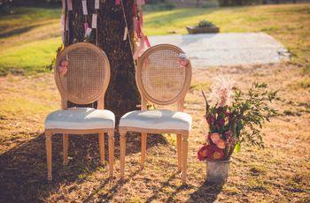 8 styles pour décorer le lieu de votre cérémonie de mariage