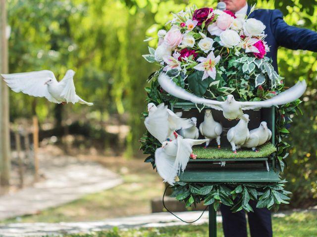 Un lâcher de colombes pour votre mariage