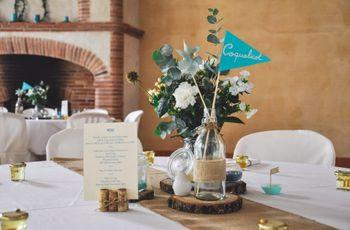 90 idées de noms de table selon des thèmes de mariage précis