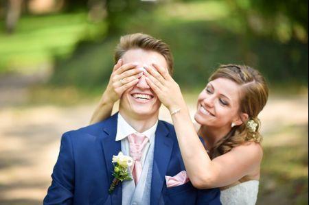 À la rencontre des traditions : le first look de mariage