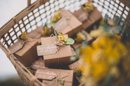 6 idées de cadeaux aux invités tendance éco-chic