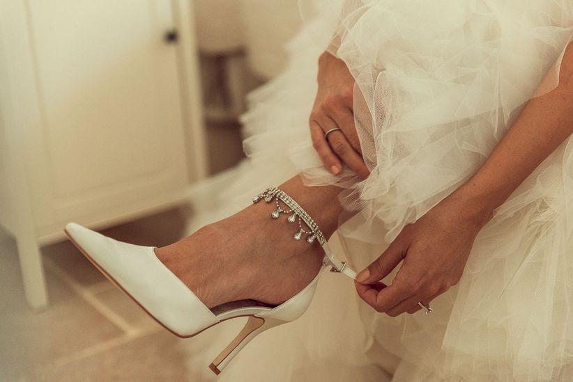 design intemporel 483f9 44dd5 8 questions à vous poser pour vos chaussures de mariée