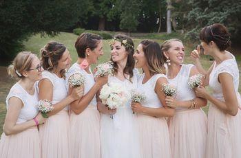 6 idées pour le dress code de vos demoiselles d'honneur