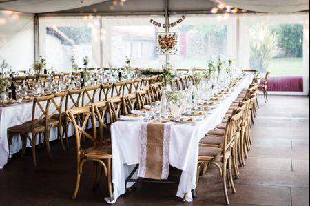 5 conseils pour décorer des tables de mariage rectangulaires