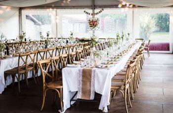 10 conseils pour choisir le th me ou les couleurs du mariage - Comment disposer les tables pour un mariage ...