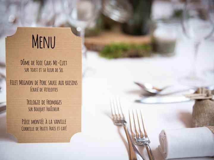 Idée Repas Mariage Simple 6 menus de mariage pas chers et originaux