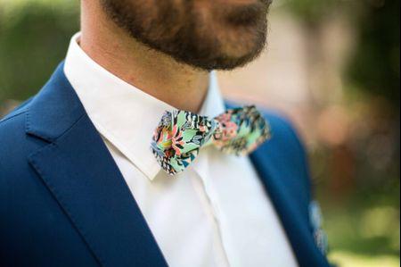 Nœud papillon de mariage : 7 imprimés à la mode
