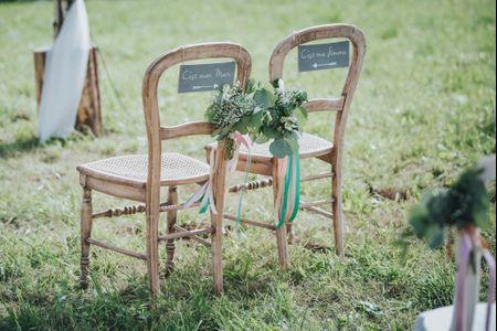 10 idées fabuleuses pour décorer les lieux de votre cérémonie laïque