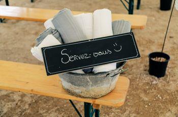 7 détails qui assureront le confort de vos invités à votre mariage