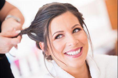 Maquillage pour les mariées aux yeux verts